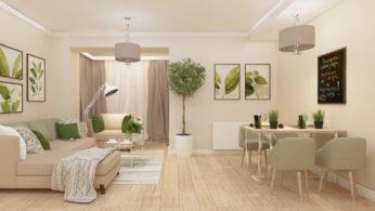 Оформление интерьера гостиной 11 | Дока-Мастер