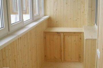Обшивка балкона вагонкой (Челябинск) 16   Дока-Мастер